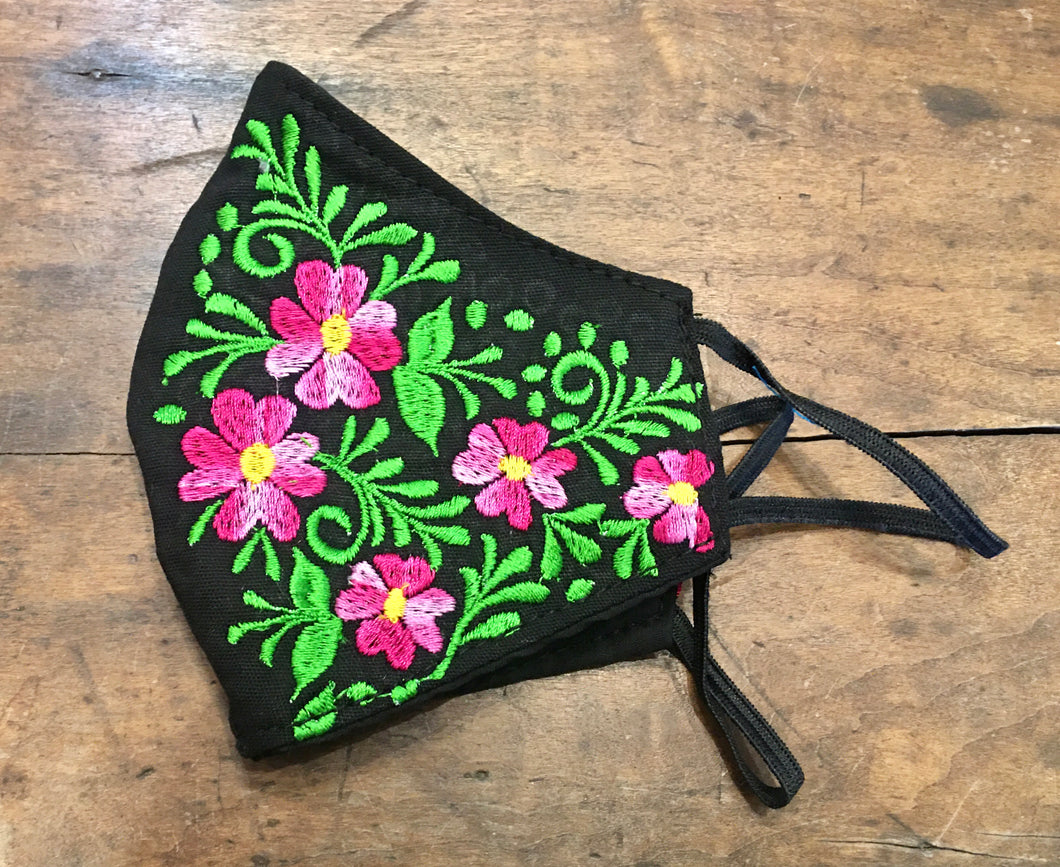 MASK - Embroidered Face Mask