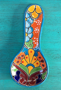 TALAVERA POTTERY - Spoon Rest - 2 Sizes