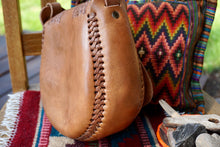 Load image into Gallery viewer, PURSE - Mexican Tooled Leather Purse - Teardrop Shape