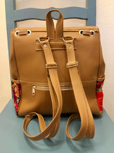 Load image into Gallery viewer, DAYPACK - Vegan Leather Chiapas Daypack - Carmel