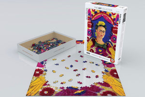 FRIDA PUZZLE - The Frame - 1,000 Pieces