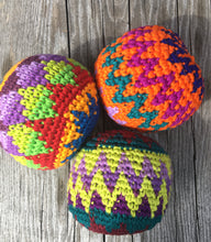 Load image into Gallery viewer, HACKY SACK- Crocheted Hacky Sack