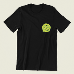 Drizel Tee - GREEN/YELLOW