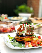 Fiesta Grilled Vegetable Stack