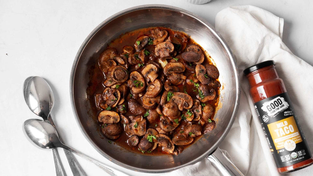 Sauteed Cremini Mushrooms