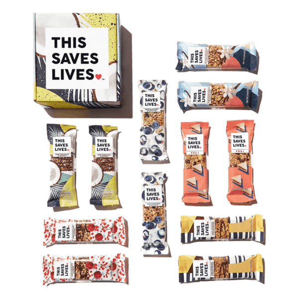 Ultimate Gift Guide For Brands That Give Back by Good Food For Good - Thos Bar Saves Lives