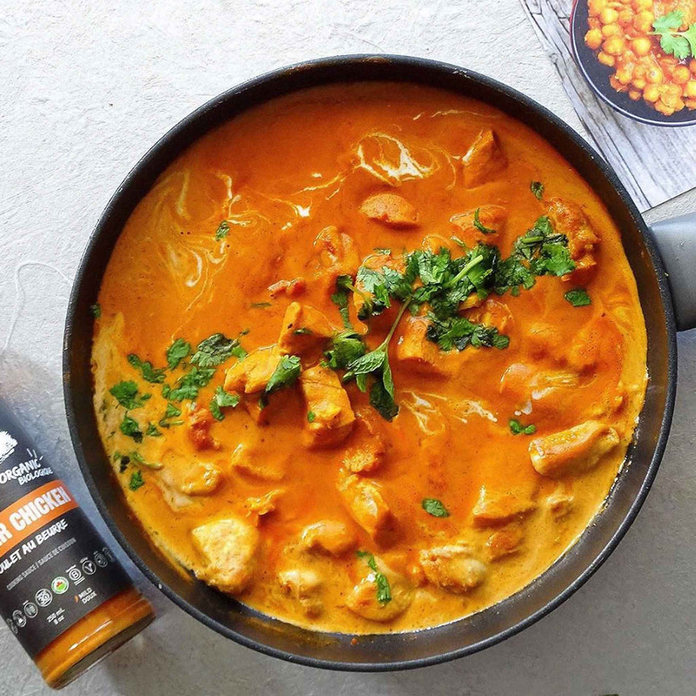 Load image into Gallery viewer, butter chicken sauce, vegan sauce, indian masala sauce, organic sauces, keto sauce by good food for good