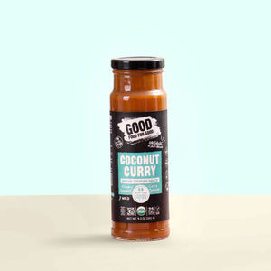 Load image into Gallery viewer, Organic Coconut Curry Sauce x4
