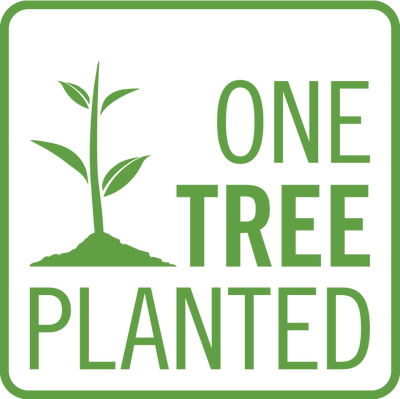One Tree Planted with every shirt sold