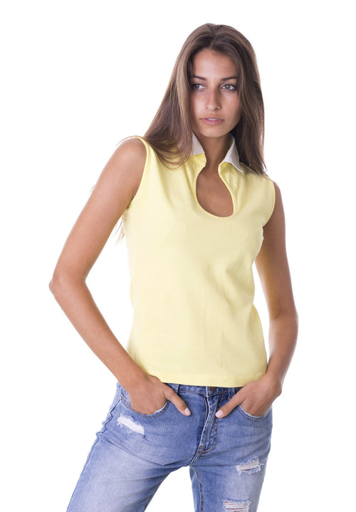 Goccia Yellow Women's Polo Shirt Revolution