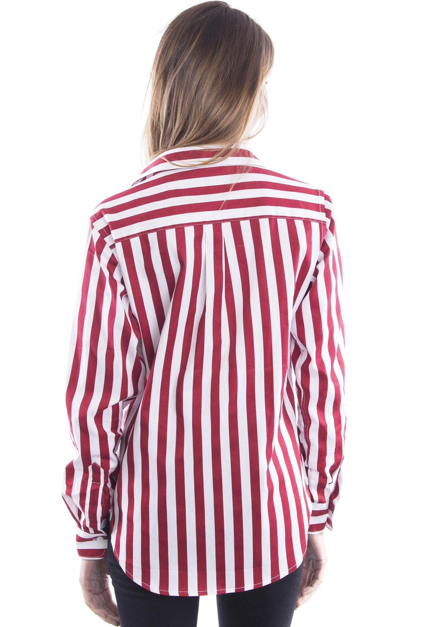 Images Of Red And White Striped Blouse Best Fashion