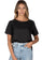 Teena Black, Linen T-Shirt