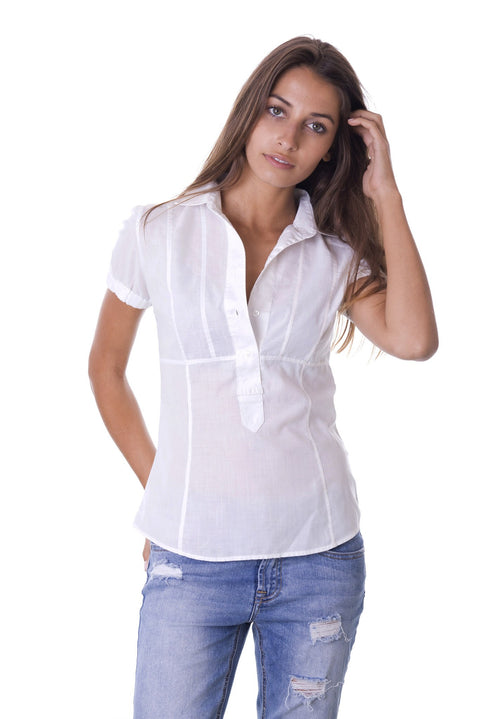 Domitilla Short Sleeve Pullover Shirt