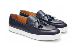 Portsea - Navy Leather