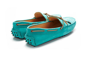 St.Tropez - Turquoise Leather