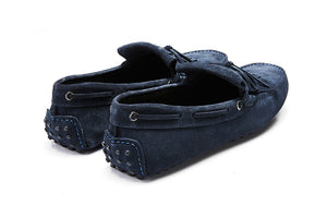 St.Barts - Navy Suede