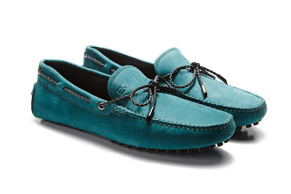 St.Tropez - Teal Leather