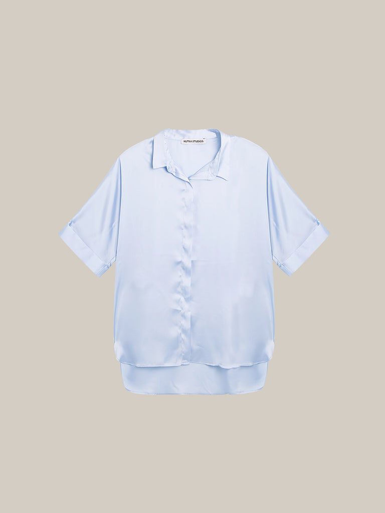 LE ESSENTIEL TOP LIGHT BLUE
