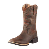 Botas Ariat Mod Mens Sport Wide Square Toe Distressed Brown