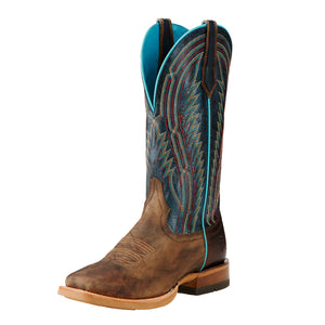 Botas Ariat Mod Mens Chute Boss Branding Iron Brown/Blue