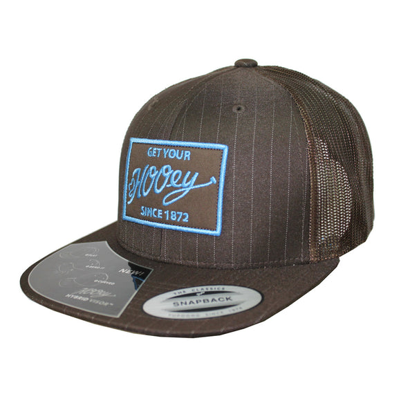 Cachucha HOoey Cocoa Brown Blue Trucker