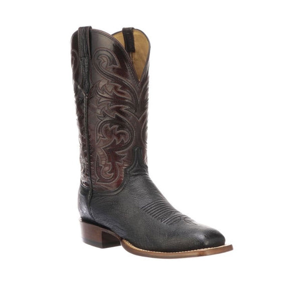 Botas Lucchese Lance CL1016.W8 Black Ostrich