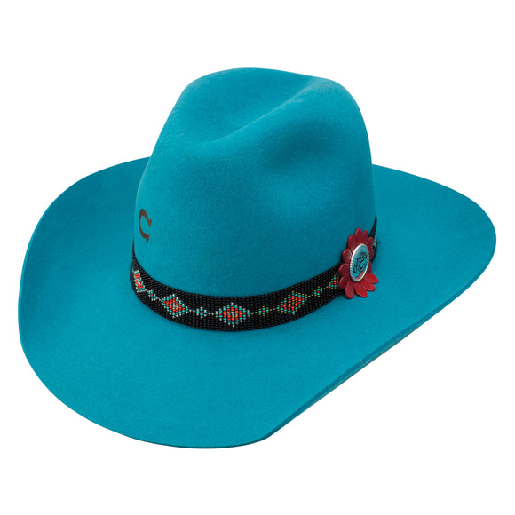Charlie 1 Horse Wild Tribe 5x Turquoise