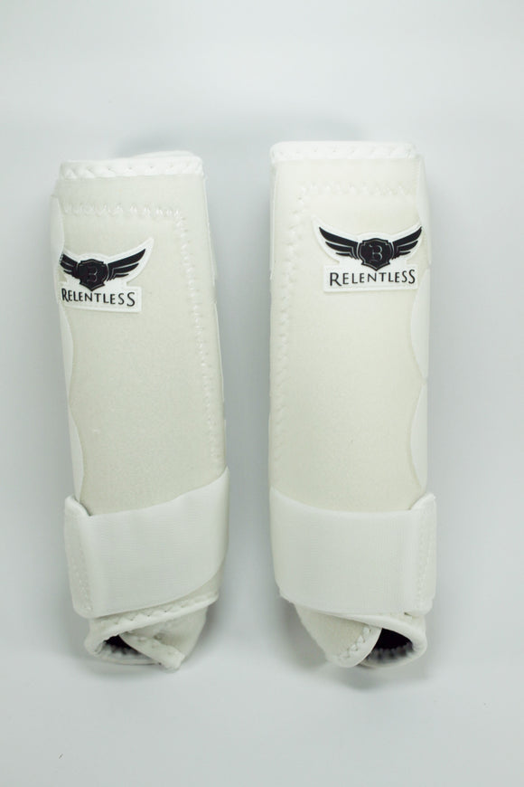 Protectores para manos Relentless color Blanco