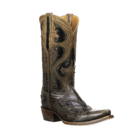 Botas Lucchese Womens Gemma M5115.S54 Pearl Cabra
