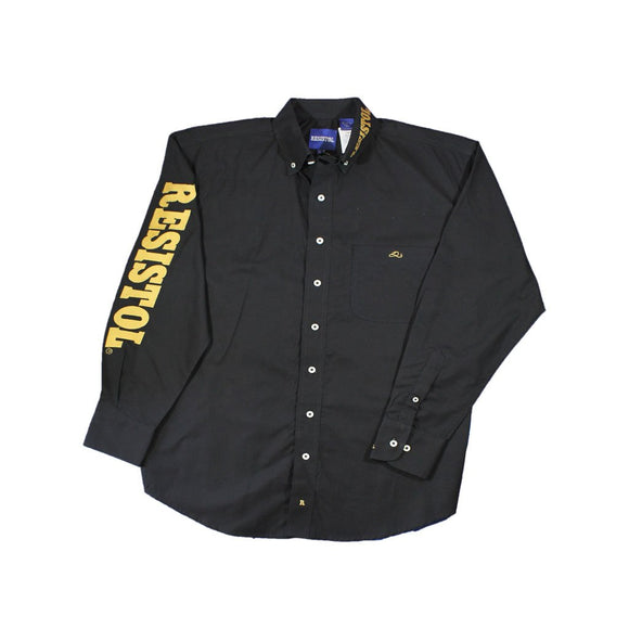 Camisa Resistol Ranch Marketing Black/Gold