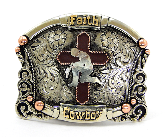 Hebilla Augus MB003 Faith Cowboy