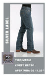 Pantalon Cinch Silver Label Mod Medium Stonewash MB98034001
