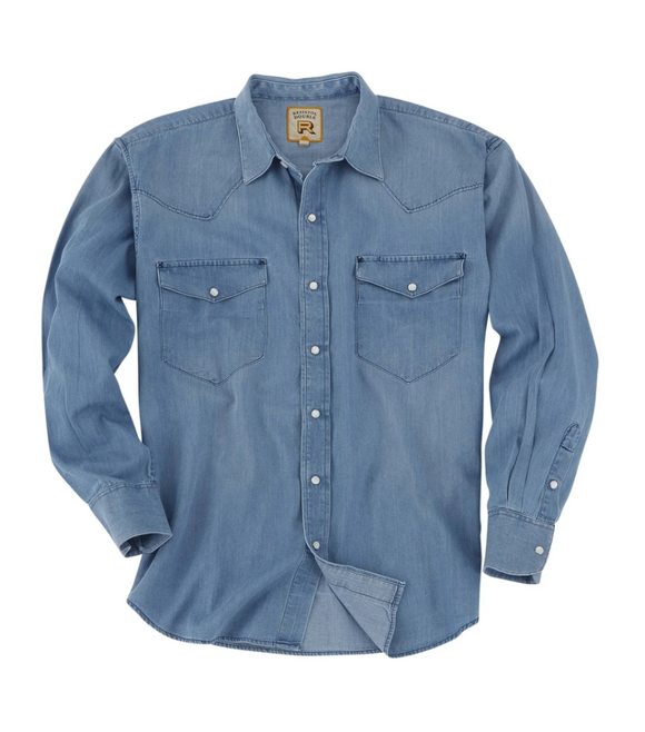 Camisa Resistol Rawlins Light Denim