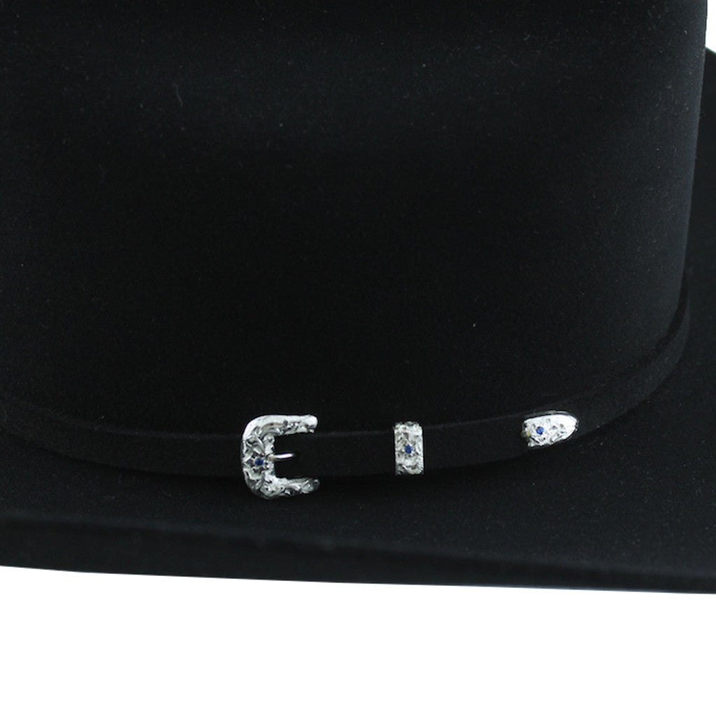 aaa07511 Stetson 150th Anniversary Icon 50x Black – Resistol & Stetson Hats ...