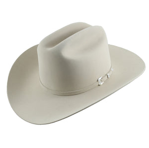 Stetson 150th Anniversary Icon 50x Silverbelly Ala 3 1/2""
