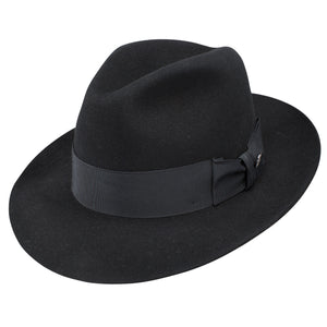 Stetson Temple Black Wool