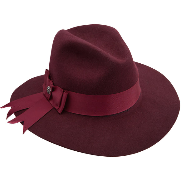 Stetson Cats Meow Burgundy