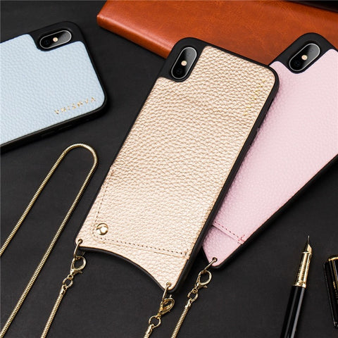 coque iphone xr avec chaine