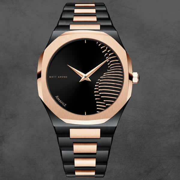 MA 865 Voyager Silhouette for Her Rosegold / Black