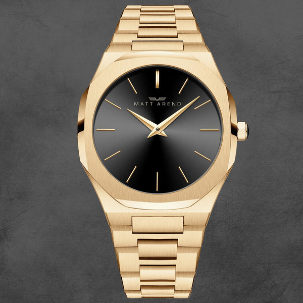 MA 858 Voyager Gold Black