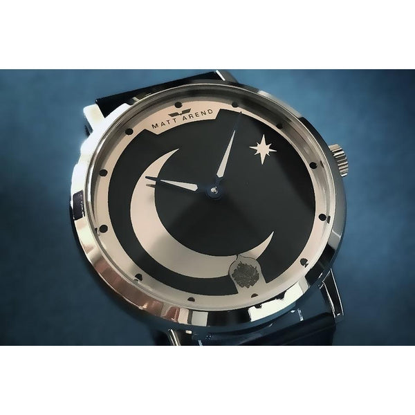 MA 835 Shahada / The Proclamation Silver / Midnight Blue