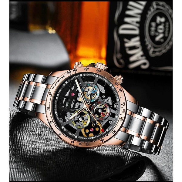 MA 868 Top Gear Skeleton Rosegold / Gunmetal
