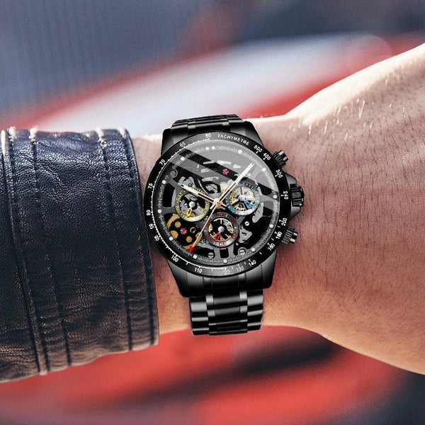 MA 873 Top Gear Skeleton Black