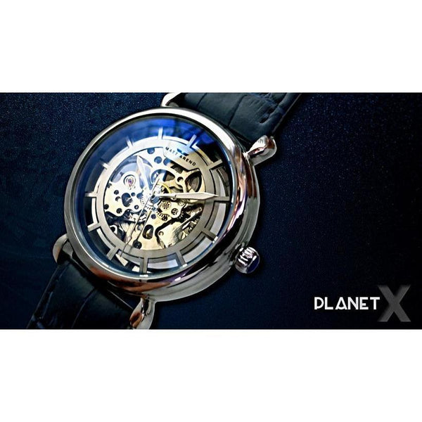 MA 843 Planet X Skeleton Iridium Blue