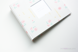 Pale Rose with Gold Keepsake Album by Our Story Paper Co.