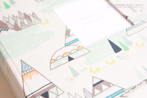 Summer Woodland Keepsake Album by Our Story Paper Co.