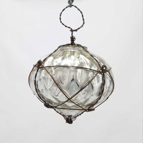decorative glass bauble