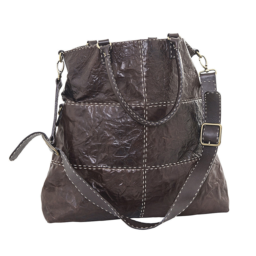 leather & stitching bag
