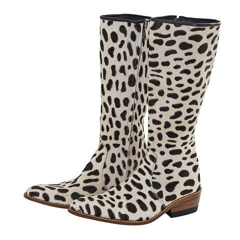 african luxe fur boots