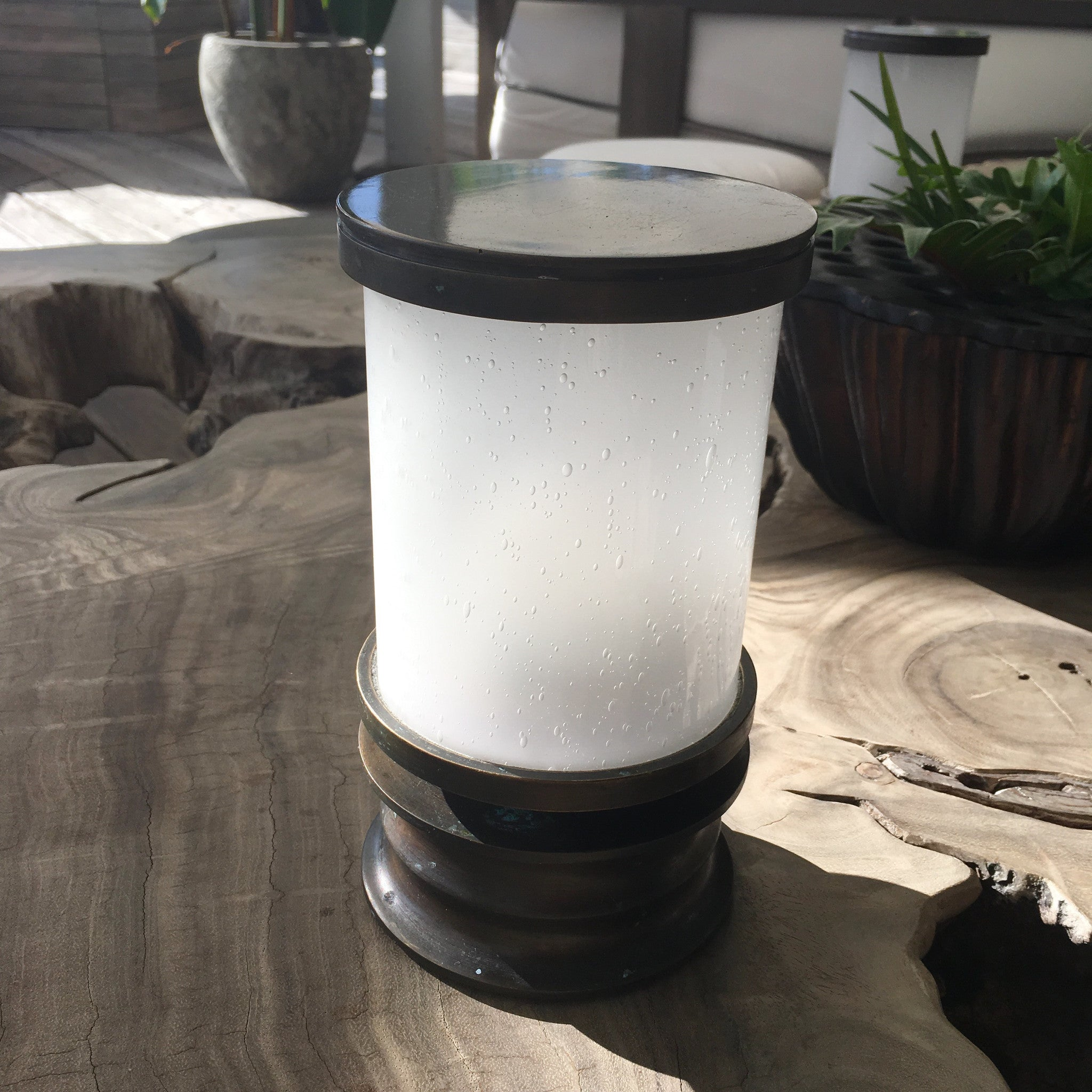 """barbados"" custom designed table lamp"
